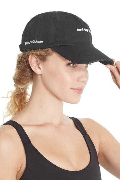 bf143198655 BEST DAY EVER - Dad Baseball Cap – good hYOUman - YOU.S.A.