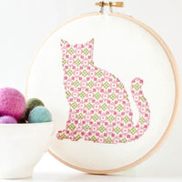 Kitten Cross Stitch Pattern - Digital Download