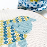 Sheep Cross Stitch Pattern - Digital Download