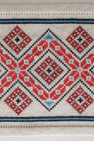 Balkan Diamond and Arrow Cross Stitch Pattern - Digital Download