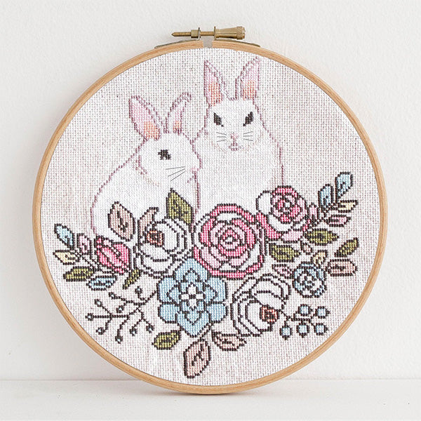 Secret Garden Cross Stitch Pattern - Digital Download