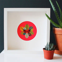Little Ladybugs Cross Stitch Pattern - Digital Download
