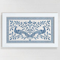 The Peacock Tree Cross Stitch Pattern - Digital Download
