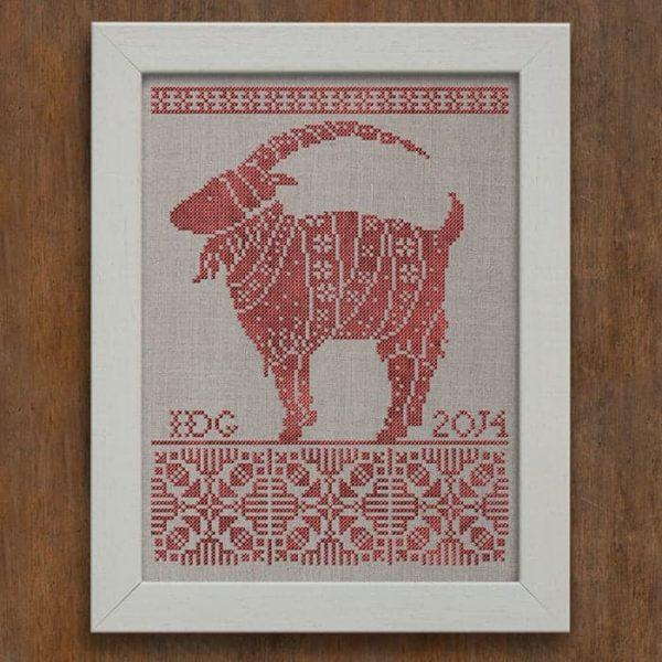Julbocken The Yule Goat Cross Stitch Pattern - Digital Download