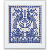 Two Birds One Tree Cross Stitch Pattern - Digital Download