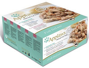 Applaws Cat Can Fish Deluxe Multi Pack 12 x70g