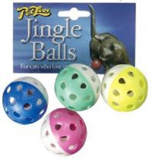 Petlove Jingle Balls 4pack