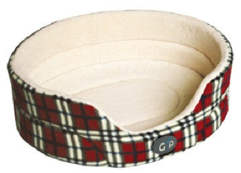 Cat or Dog Bed from GorPets Argyll Design