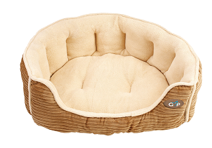 Snuggle Bed Royan from Gorpets Beige Corduroy