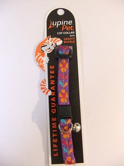 "Lupine Cat Safety Collar with Bell ""Spring Fling"""