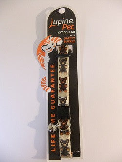 "Lupine Cat Safety Collar with Bell ""Teddy Bears"""