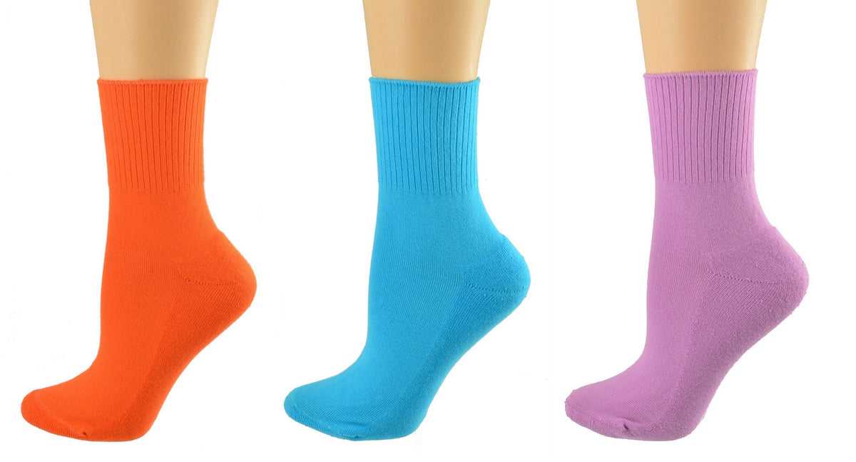 Diabetic Arthritic Cotton Ankle Cushioned Socks