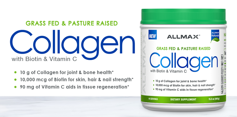 Allmax Collagen + Biotin