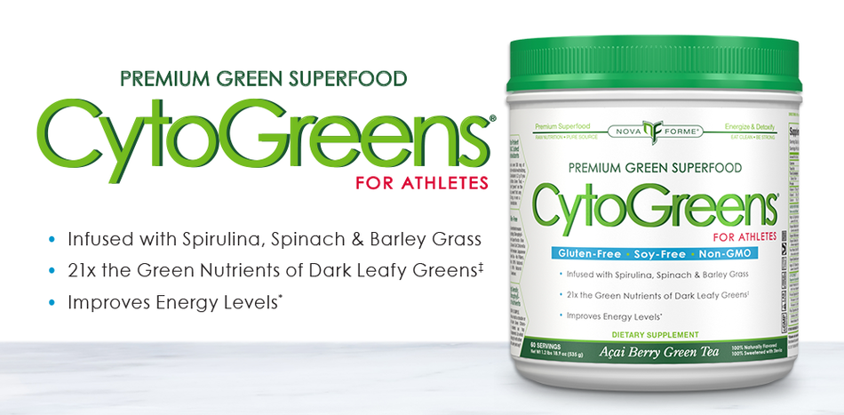 CytoGreens Accai Berry Green Tea