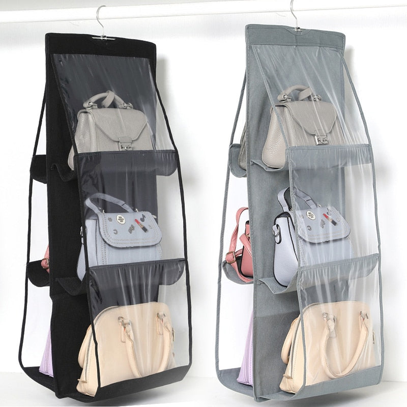 6 Pocket Foldable Hanging Bag - MYPOPDEALS