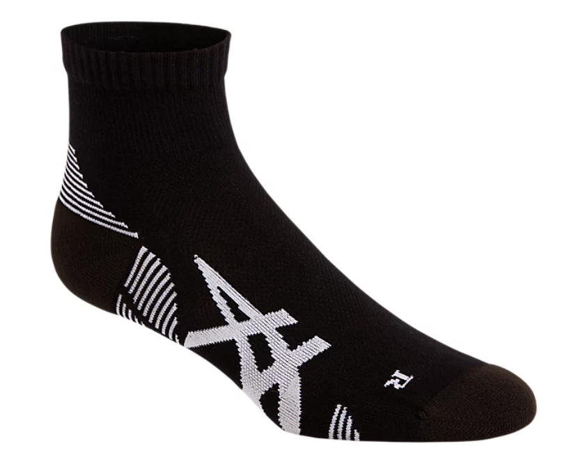 Asics-2PPK-Cushioning-Sock-accessori-running-uomo-donna-bianco-nero
