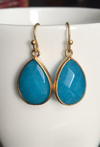 Kyra Earrings - Turquoise