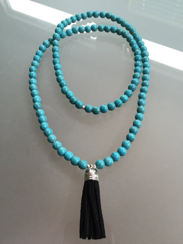 Ava Tassel Necklace - Mala Tassel Necklace