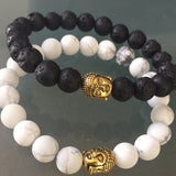 Original Buddha Bracelet - Gemstone stacker choices