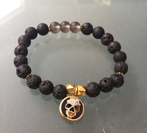 Fuego Bracelet - Gemstone stacker