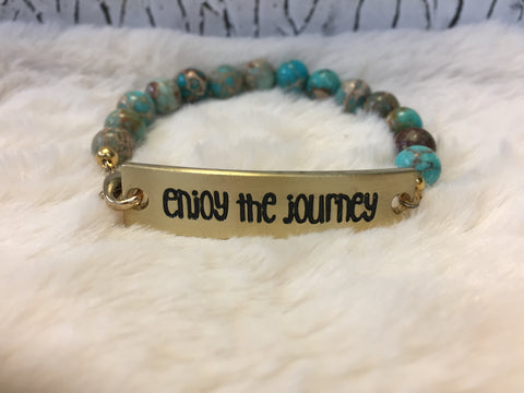 A Travellers Diary Bracelet -