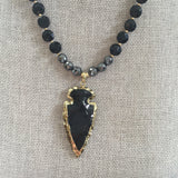 Natalie Necklace - Arrowhead Pendant