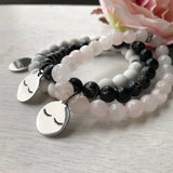 Eyelash Lovers - Perfect for your lash tech! - Gemstone stacker bracelets