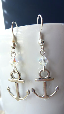 Anchors Away Earrings - Mini