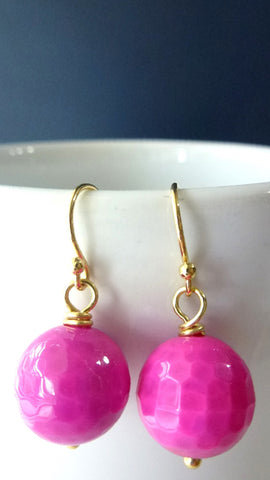 Agate Drop Earrings - Multiple options