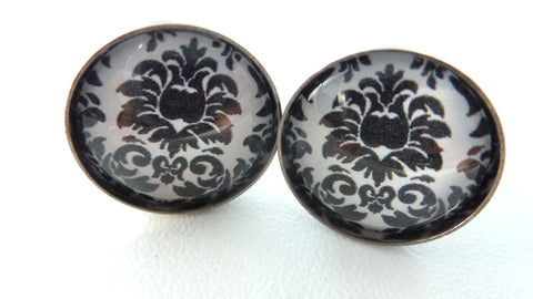 Black Damask Clufflinks