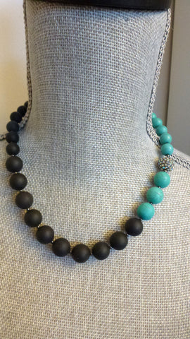 Catrice Necklace - Two Toned