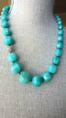 Ovalau Necklace - Teal Edition