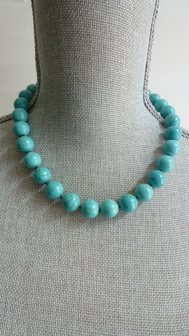 Ariya - Simple Turquoise Necklace