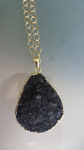 Agate Druzy Necklaces