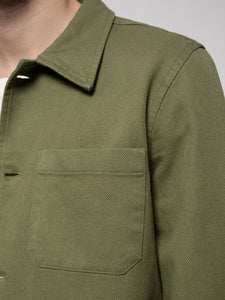 Barney Worker Jacket Green