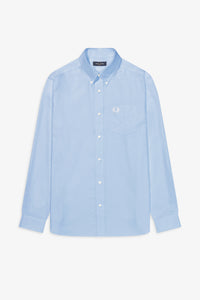 Oxford shirt light smoke