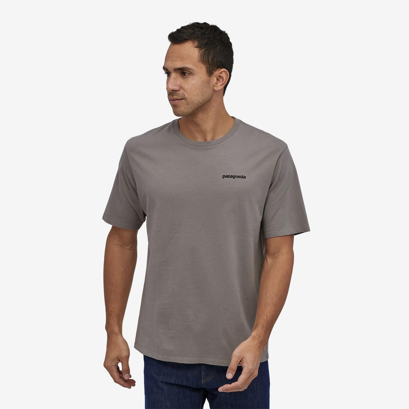P-6 organic cotton t-shirt grey