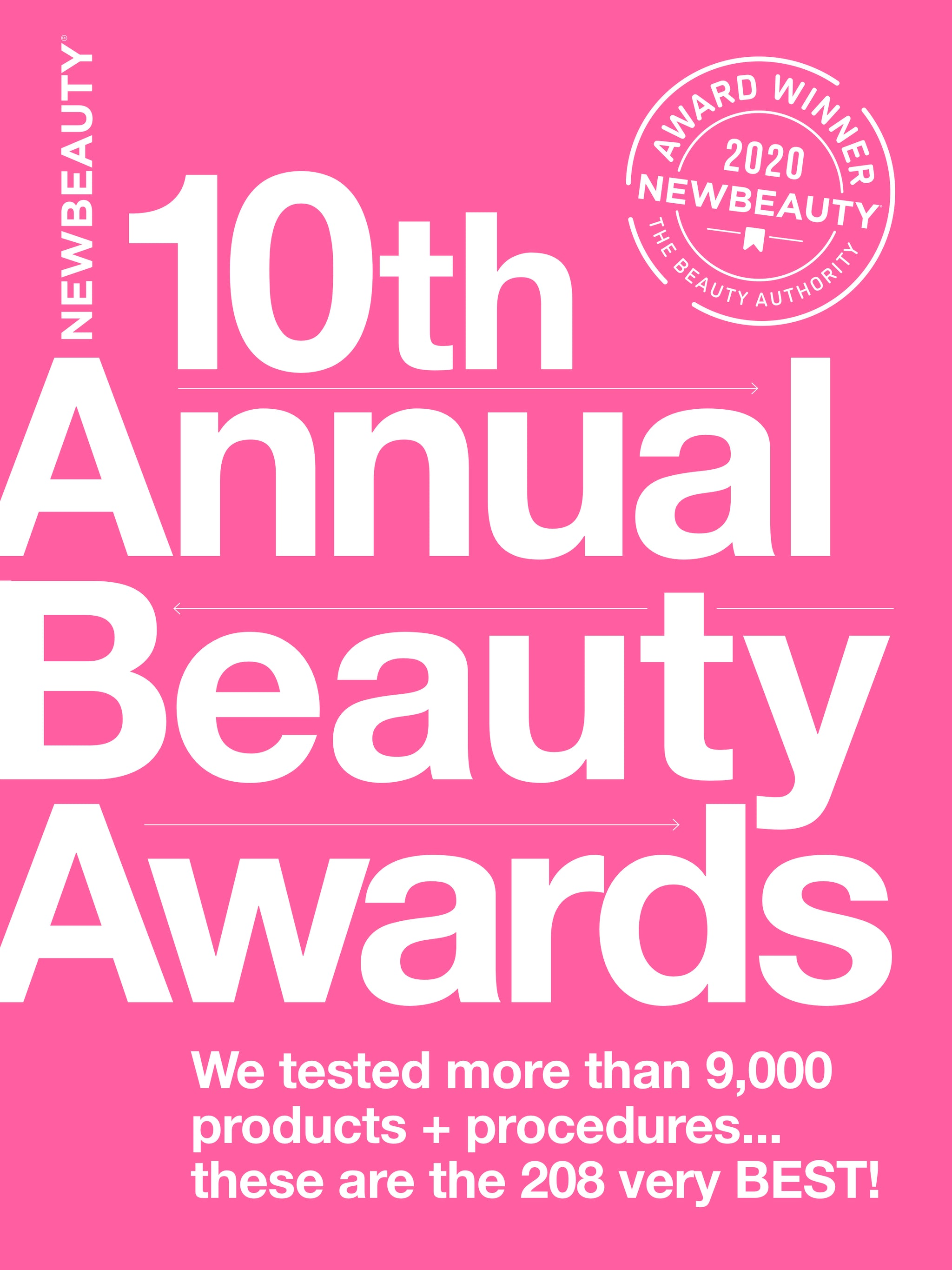 April 2020 - NewBeauty Beauty Awards: Macrene Actives Won the Best Moisturizer and Clean Beauty Badge!