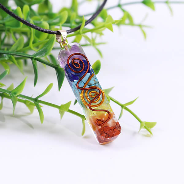 7 Chakra Healing Stones Necklace