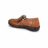 Women's Ginger Leather Basic Comfort Shoes