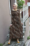 Women's Leopard Pattern Dress