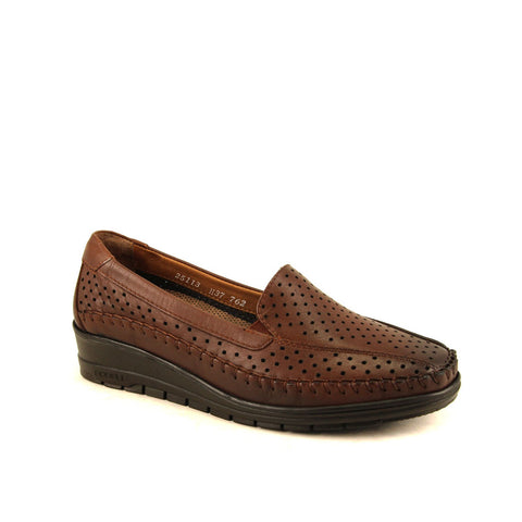 Women's Ginger Leather Comfort Shoes