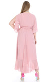 Women's Oversize Long Chiffon Dress