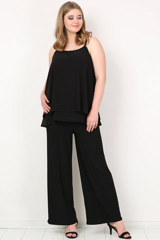 Women's Oversize Lycra Evening Pants