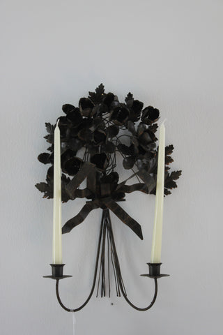 Rose & Bow Sconce