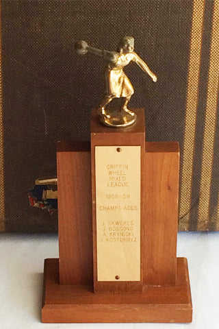 Griffin Wheel Ladies Bowling Trophy '58-'59