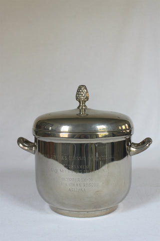 Wigwam Resort Ice Bucket with Acorn Lid