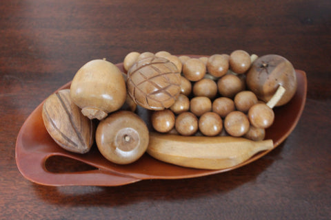 Wooden Fruit Platter