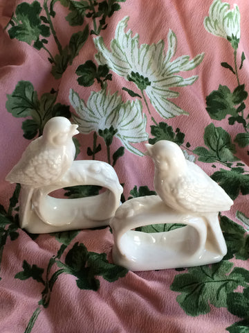 Alice Napkin Rings: Set of 2
