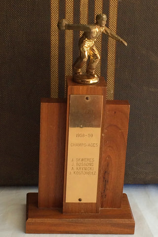 Griffin Wheel Mens Bowling Trophy '58-'59